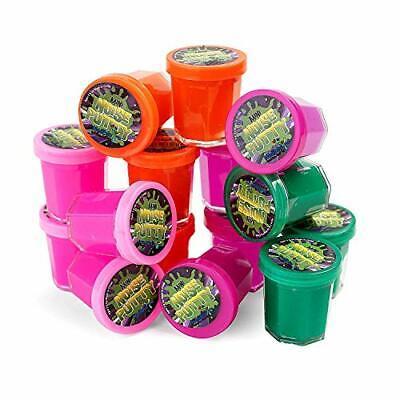 Legs Galore Dinosaur Mini Egg Putty Slime Pack Of 12 Kids Party