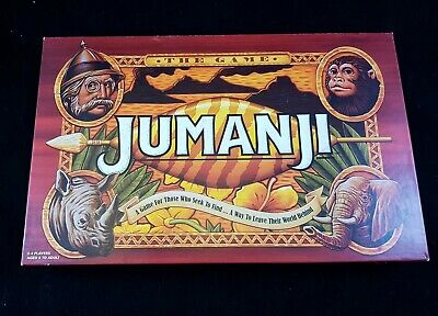 Jumanji The Game - Board Game - Complete - 2018