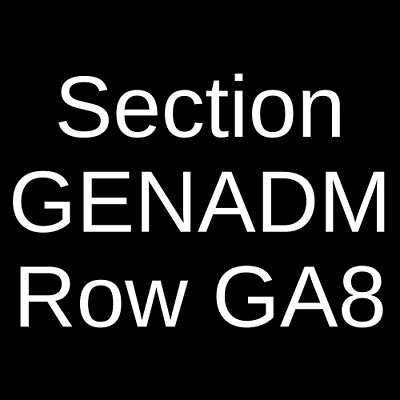 3 Tickets Eli Young Band 2/16/20 Indianapolis, IN