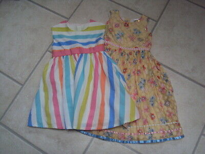 2 x GIRLS DRESSES - MARKS & SPENCER, MOTHERCARE (BNWT), AGE 2-3 YEARS