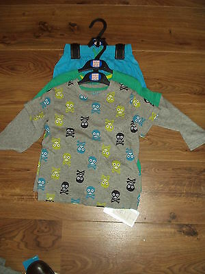 Boys Pyjamas X 2 Pair. Age 1 1/2-2 Years. Marks & Spencer. Bnwt