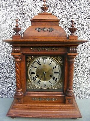 Antique German Hac 14 Day Striking Clock Stunning Clock