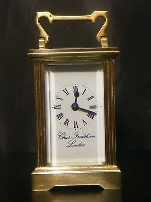 Antique Charles Frodsham Carriage Clock Miniature
