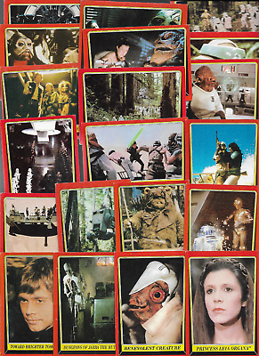 Lot Of (25) Topps 1983 Star Wars Trading Cards *Return of the Jedi* - MINT/NM -