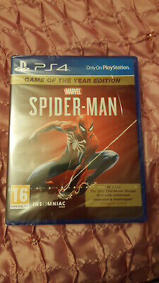 PS4 Marvel's Spider-Man -- Game of the Year Edition new & sealed Playstation 4