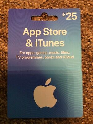 Apple App Store And iTunes Gift Card £25