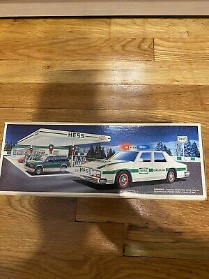 Hess Truck Police Car 1993 Helicopter Tractor Semi