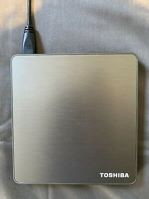 Toshiba Portable Supermulti DVD CD Drive - External USB
