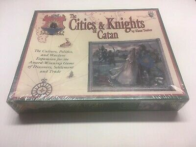 The Cities and Knights of Catan  Expansion Rare 3rd, Ed #494 Factory Sealed