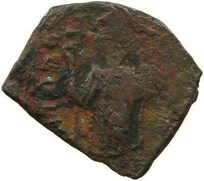 BYZANTINE EMPIRE CONSTANS II 641-668 FOLLIS RATTO 1553 #sg 021