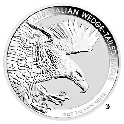 2020 Australian Wedge-Tailed Eagle 1 oz Silver Coin