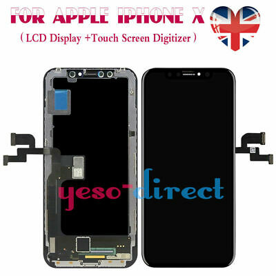 For Apple iPhone X Black Screen Replacement LCD Display Assembly Touch Digitizer