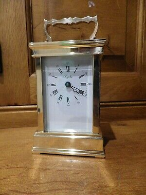 L Epee French Carriage Clock In Old Stock Condition.