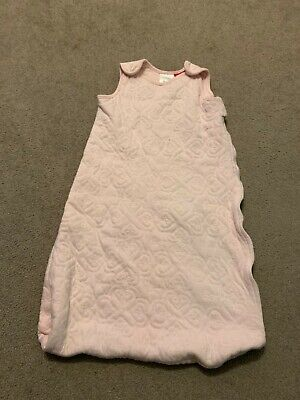Sprout Sleeping Bag Size 0 (6-12months) in pink. Winter weather.