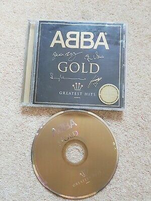 CD ALBUM - ABBA - Gold (Greatest Hits, 1992) special edition Signed cover