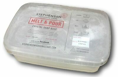 Stephenson - SLS Free Clear - Melt and Pour Soap Base 500g-10kg