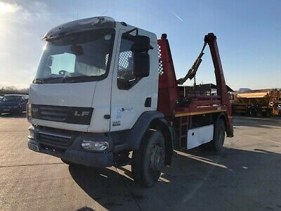 2013 13 DAF 55 220 skip lorry - Long Test - only 168000KMS
