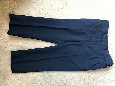 Boys Next Suit Age 3 navy Blue. Shirt, Waist Coat And Trousers