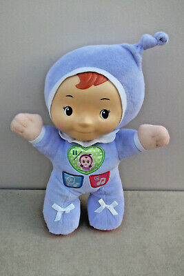 "Vtech Baby 12"" LIGHT - UP BABY NIGHTLIGHT Soft Plush Baby Toy"