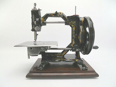 Antique J. Collier & Sons Octagonal 'Swift & Sure' Sewing Machine c.1870s