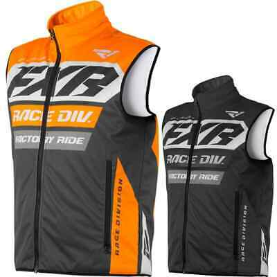 2X-Large Charcoal//Gray FXR Racing F19 Cold Cross Race Ready Mens Motocross Jersey