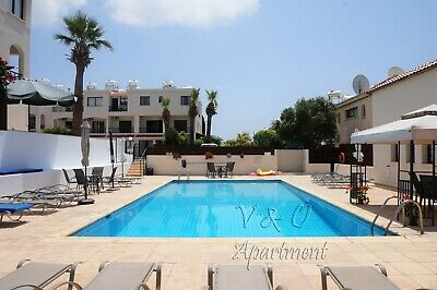 Studio Holiday Apartment for short term rent in sunny Cyprus, Paphos town