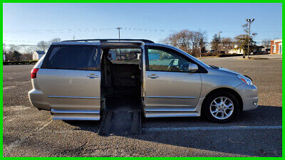 2004 Toyota Sienna XLE Limited VAN WHEELCHAIR HANDICAP POWER RAMP/DOORS KNEELING 2004 XLE Limited Used 3.3L V6