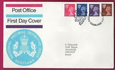 GB - 1971 - Regional Decimal Definitive Issue Scotland - First Day Cover