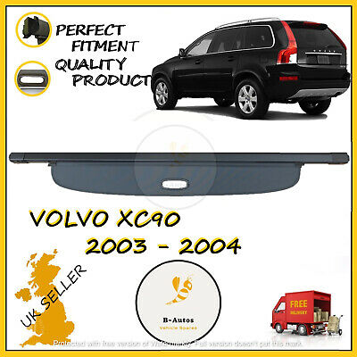 New Volvo Xc90 2003-2014 Parcel Shelf Load Luggage Cover Blind Black