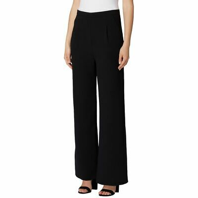 TAHARI ASL NEW Women's Solid Crepe Wide-leg Dress Pants TEDO
