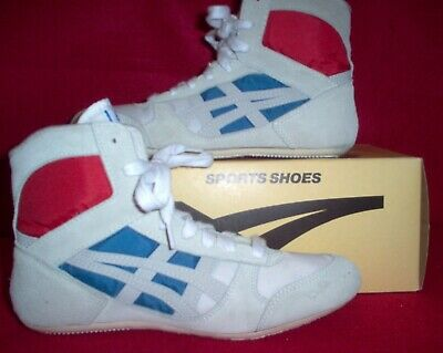 "Classic 1990 Asics Tiger ""Reflex"" Wrestling Shoes Youth size 4"