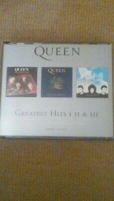 Queen Greatest hits 1 2 3 Platinum collection 3 cd set