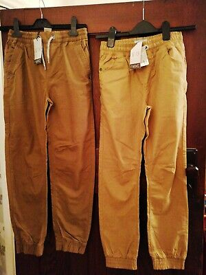 2 Pairs Boys Casual Cargo Trousers Age 11 NEXT BRAND NEW WITH TAGS