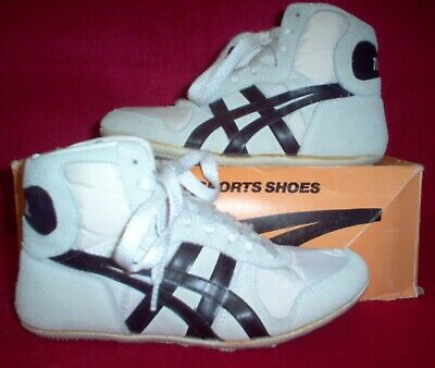 "Classic 1989 Asics Tiger ""Reflex"" (JN-20) Wrestling Shoes Youth size 4 1/2"