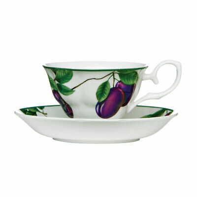 Cup and Saucer Sugar Plum 160ml Bone China Porcelain Coffee Tea Mug