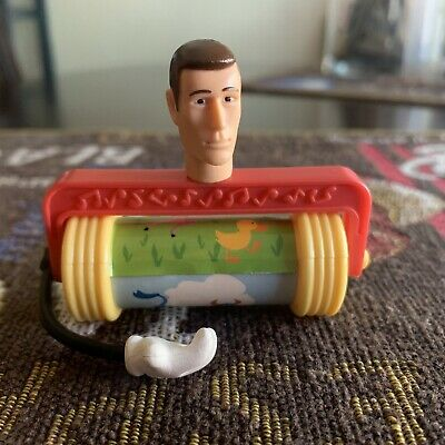 Disney Pixar Mattel Original Toy Story Movie JINGLE JOE Sid Made Toy RARE HTF