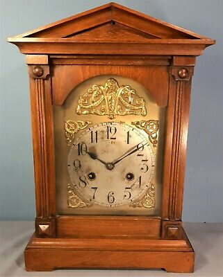 Antique Junghans Bracket Striking Mantel Clock, Working order