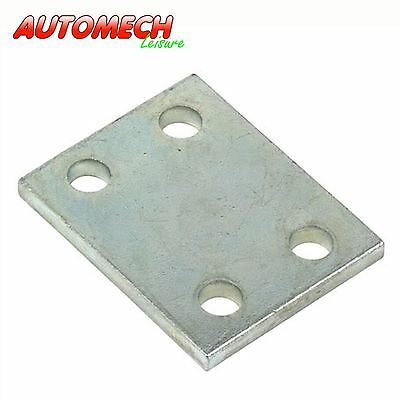"Heavy Duty, Zinc plated Tow Ball Drop Plate 2"" (50mm) Caravan/Trailer (230)"