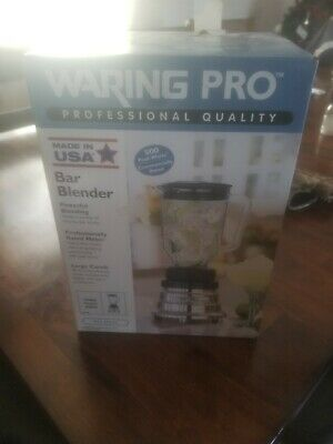 Waring Commercial Bar Blender Black 48 oz 2 Speed 1/2 HP BB160 Toggle switch