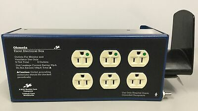 Ohmeda 1001-8945-000 Box Outlet Excel Nema 15 Power Supply