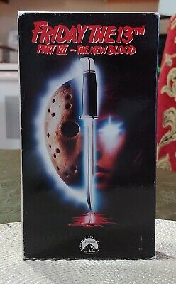 Friday The 13th Part 7 The New Blood VHS Horror 1st Paramount Release