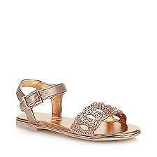 Baker by Ted Baker - Girls' Pink Diamante Sandals new Size uk4 RRP £35