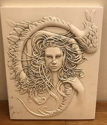 Latex Mould for making this Stunning Angel Plaque