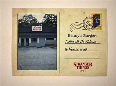 2019 Topps Stranger Things Welcome to Hawkins #HWK-4 Benny's Burgers