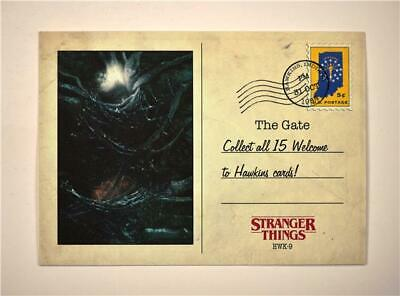 2019 Topps Stranger Things Welcome to Hawkins #HWK-9 The Gate