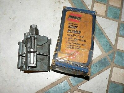 "Vintage Used Ammco Model 2100 Ridge Reamer 2-9/16"" to 5"""