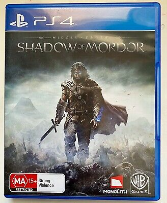 Middle Earth: Shadow of Mordor - Playstation 4 - Like New!