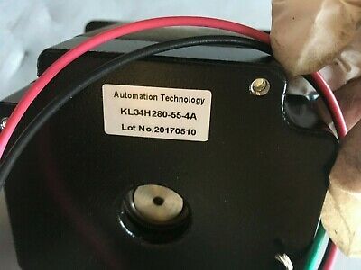 nema 34 stepper motor KL34H280-55-4A Keling Automation tech stepping cnc 3dp