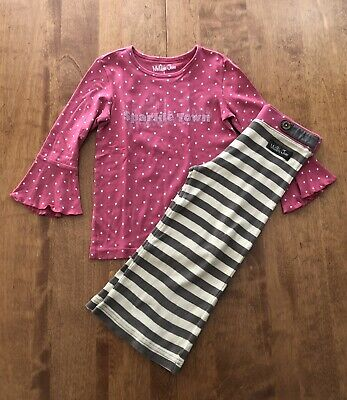 Matilda Jane Sparkle Town Outfit Size 6