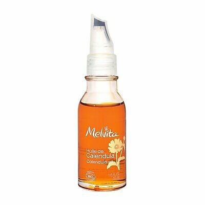 Melvita Calendula Oil 1.7oz,50ml Bath Body Massage Oil Natural & Organic #13976